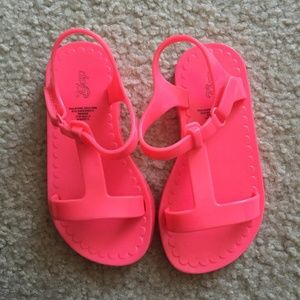 Pink Gap Toddler Jelly Sandals